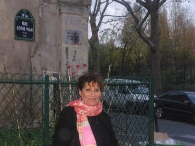 Nicole Bertolt rue Boris Vian, 30 nobembre 2012 (Photo CGO).