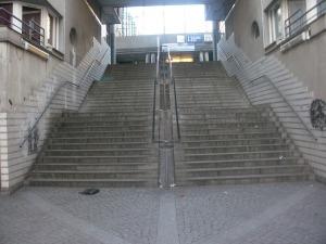 Escalier emphytéotique.