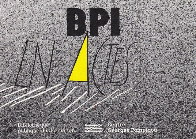 BPI en actes. Éditions de la Bibliothèque publique d'information du Centre Georges Pompidou.