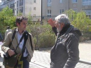 Gaël Coto et Bernard Tagland (OR).