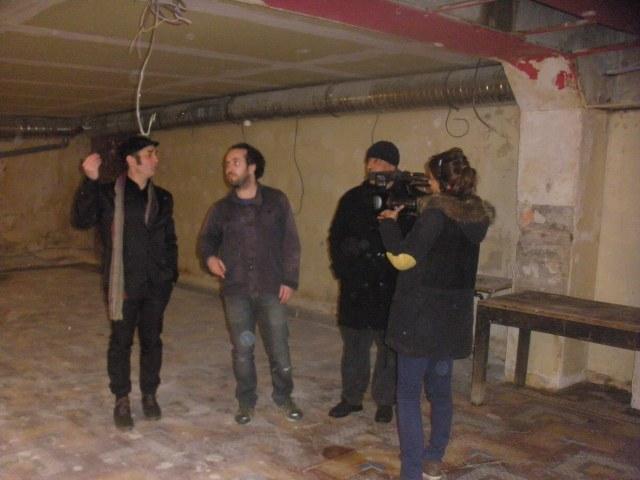 Hand-over Breuil - Messous sous l'oeil de Rachid Arar er D8