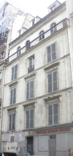 La façade du  Myrha (CGO).