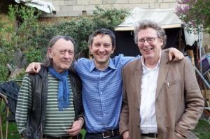 Les 3 Suisses au Jardin d'Alice (Photo GC).