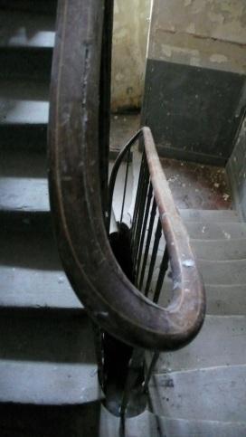 L'escalier du 5 rue Myrha (DR).