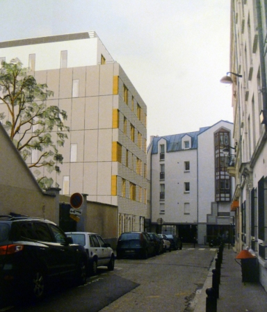 18e - Erckmann 2 rue 32 rue Polonceau  Morland fev 2012