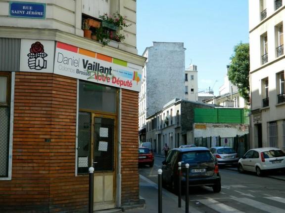 L'oeil du maire sur Paris-Habitat (Photo JRB).