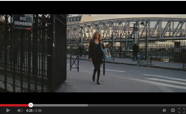 Chiara Mastroianni, angle Jessaint/Stephenson (Les Bien-Aimés 2011).