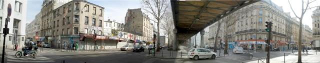 Le boulevard de la Chapelle (angle Philippe de Girard) : un lien fédérateur entre l'avant et l'arrière gare selon l'APUR