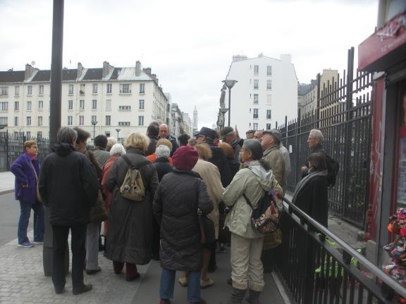 Le pont de la rue Doudeauville a une histoire (à suivre).