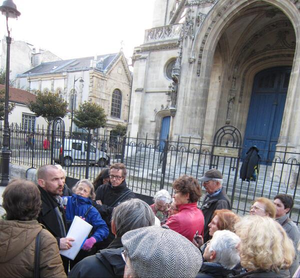 L'église St Bernard inscrite le 26 novembre 2012 (Crédit photo  @FRemongin).