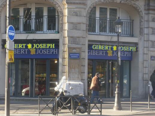 11-12-13... Gibert Jospeh ouvre sur le Boulevard Barbès