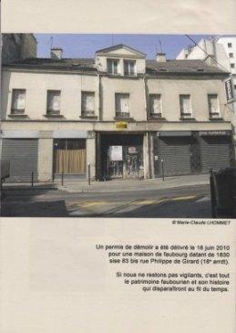 4e de couverture du n° 105 de Bulletin de Paris Historique (Photo Marie-Claude Lhomet).
