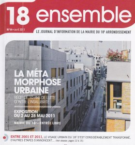 Le Une de 18 ensemble (avril 2011).