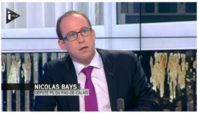 Nicolas Bays sur le plateau d'On ne va pas se mentir (29 janvier 2014).