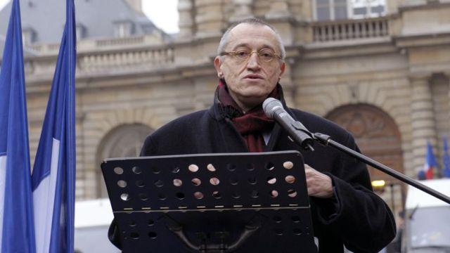 Paul-Marie Coûtaux (Crédit photo AFP/Le Figaro).