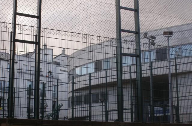 Les hauts de la rue Boris Vian au coeurde la Goutte d'Or Sud.