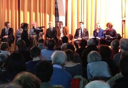 Le débat du 21 février à la Maison verte (photo ...).