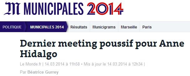Le Monde.fr 14 mars 2014.