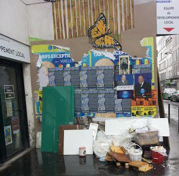 L'EDL de la rue Myrha (25 mars 2014).