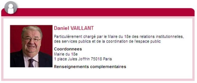 Extrait de Vos élus sur le site de la Mairie.