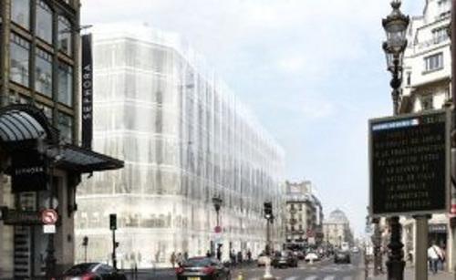 Projet rejeté par le Tribuanl administratif (dossier de presse via SOS Paris).