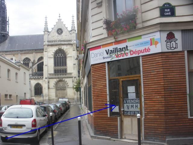 Angle des rues Cavé et Saint Jérôme (juin 2014).