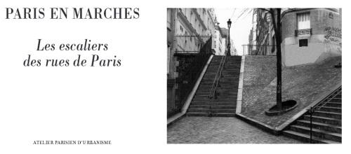 Les escaliers de l'APUR.