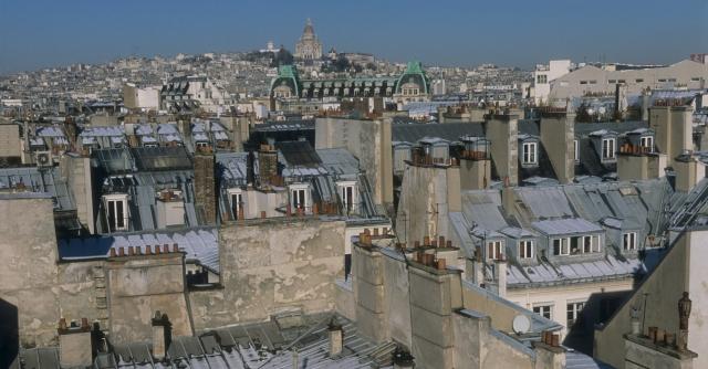 LES TOITS DE PARIS- PARIS VU DES TOITS -