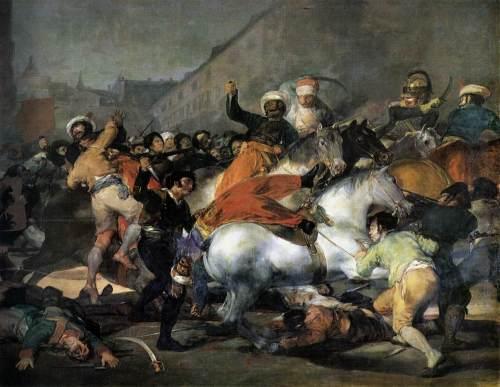 Dos de Mayo, Francisco de Goya (1814).