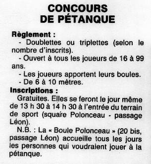 Paris-Goutte d'Or, 1987.