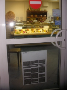 Pâtisserie Andaloucia.