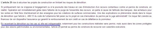 article 29 L Macron