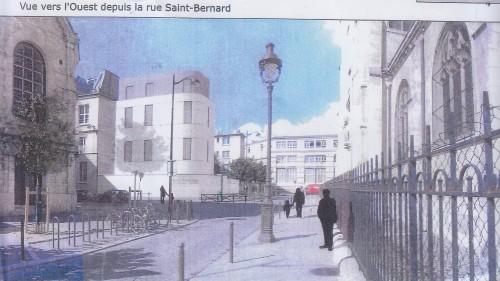 La rue Saint Bernard tant qu'à faire (dossier architecte, 2014).